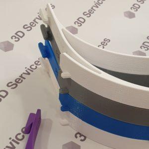 Баннер 3д печать защитных визеров 3DServices 1