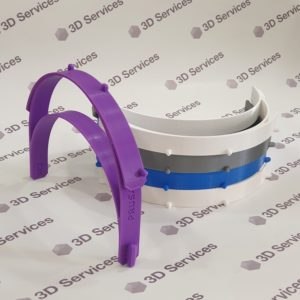 Баннер 3д печать защитных визеров 3DServices 3