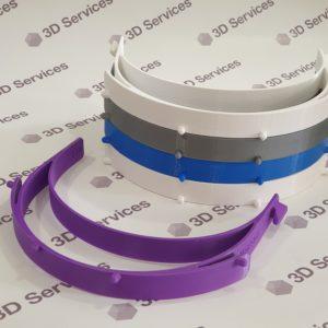 Баннер 3д печать защитных визеров 3DServices 6