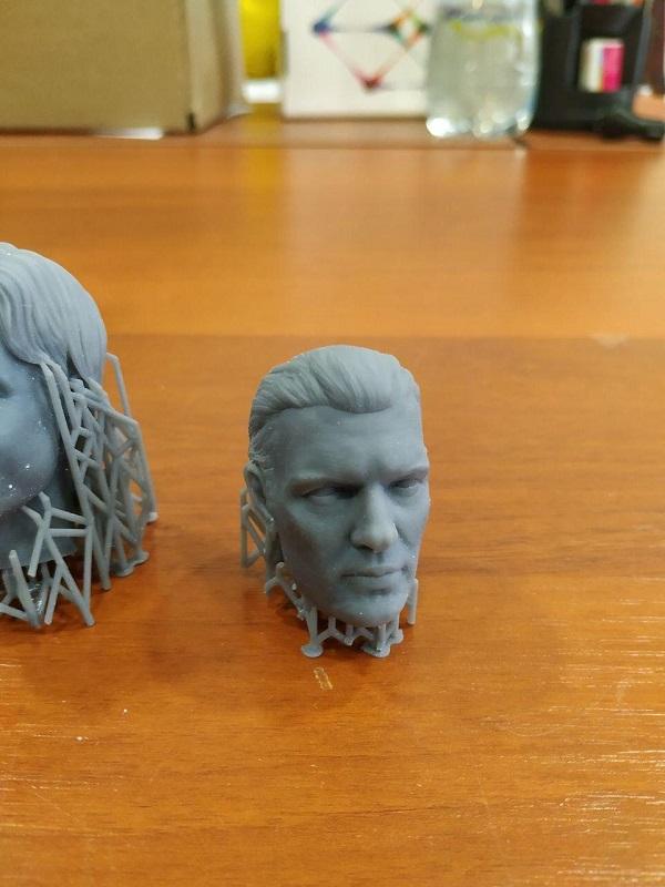 3D печать человеческих голов 2