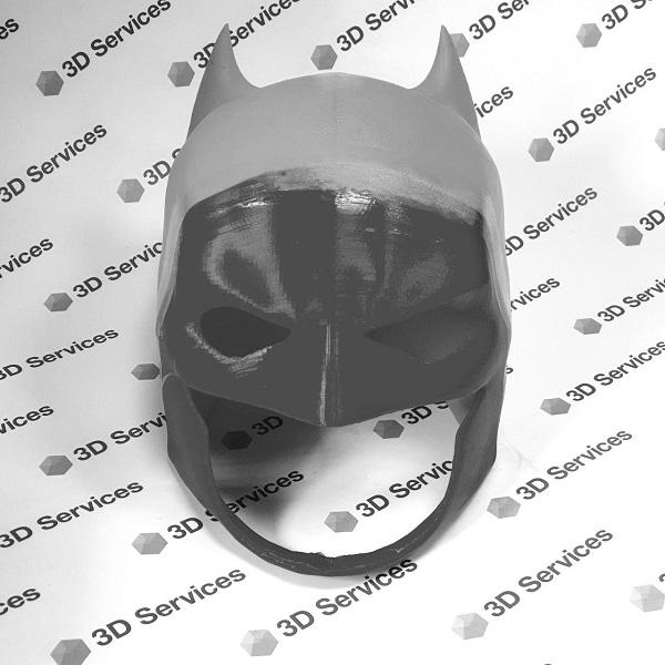 3D печать маски Бетмена 3