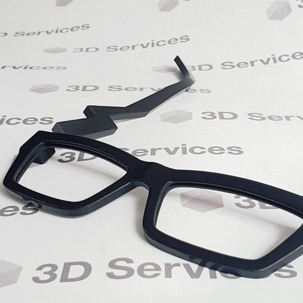 3D печать оправы очков 2