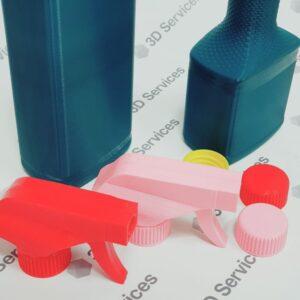 3D печать прототипа флаконов 1