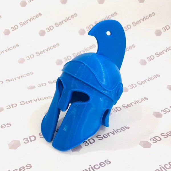 3D печать римского шлема 1