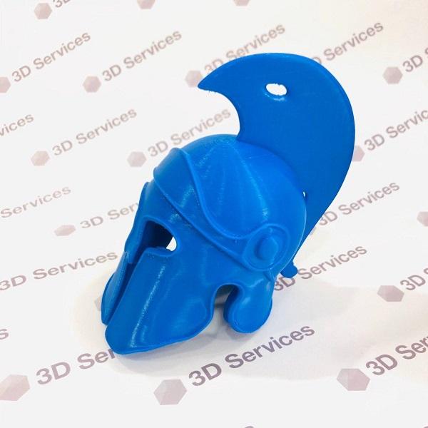 3D печать римского шлема 2
