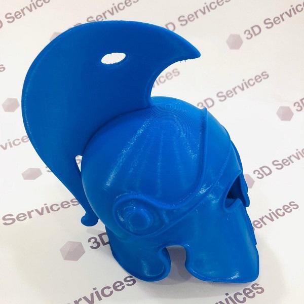 3D печать римского шлема 3