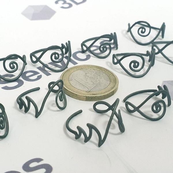 3D печать ювелирных изделий из титана 4