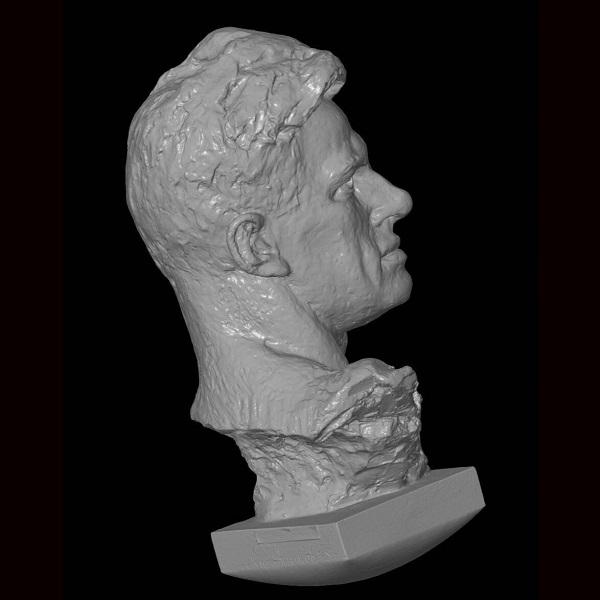 3D сканирование Бюст Владимира Маяковского 1
