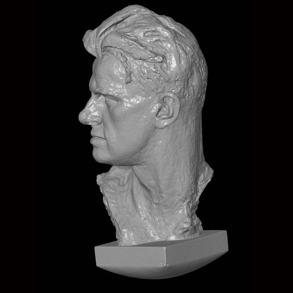 3D сканирование бюста Владимира Маяковского 2