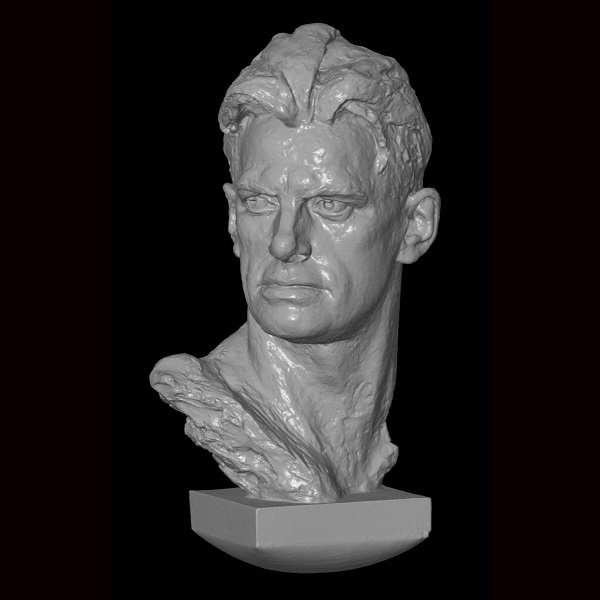 3D сканирование бюста Владимира Маяковского 3