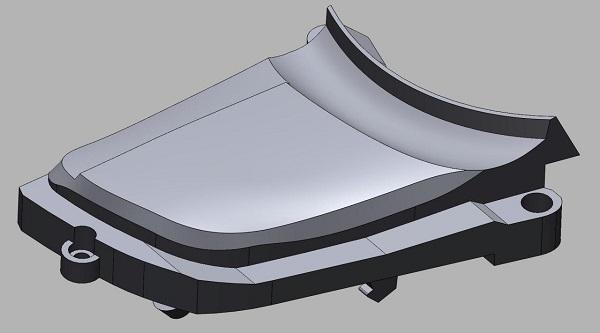 3D сканирование элементов управления на руле 3
