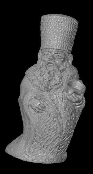 3D сканирование фигурки гнома 3