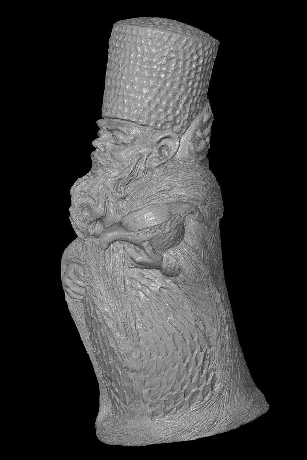 3D сканирование фигурки гнома 4