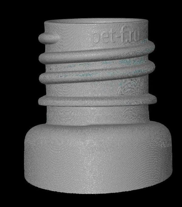 3D сканирование горлышка бутылки 1