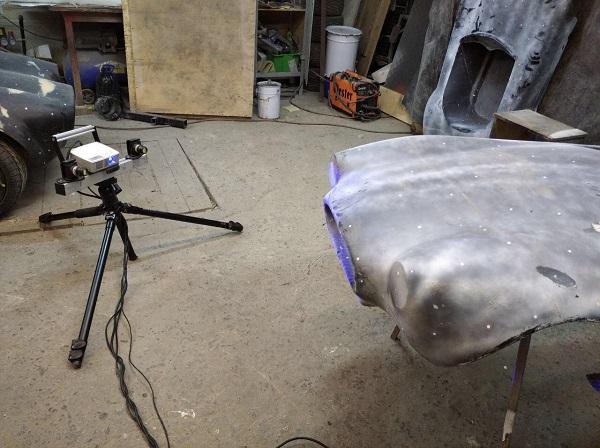 3D сканирование кузова автомобиля 1