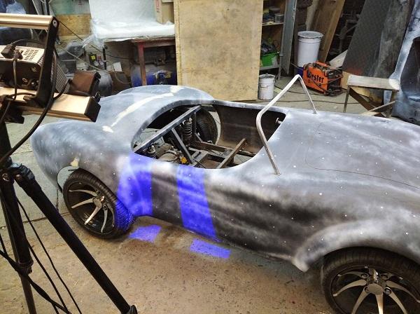 3D сканирование кузова автомобиля 2