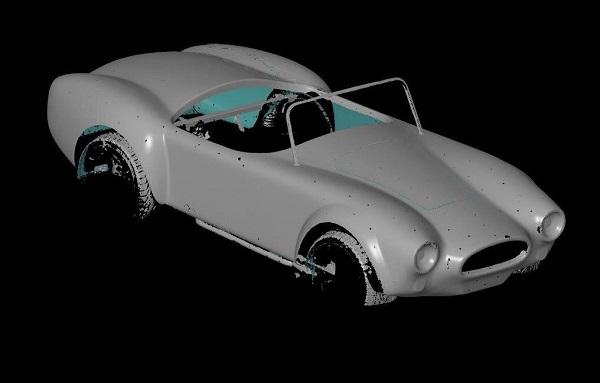 3D сканирование кузова автомобиля 3