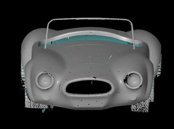 3D сканирование кузова автомобиля 4