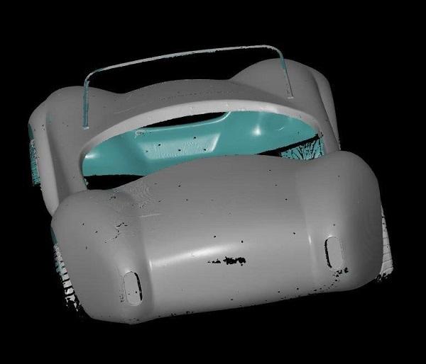 3D сканирование кузова автомобиля 5