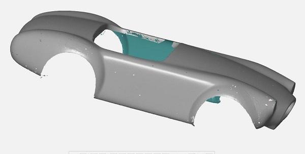 3D сканирование кузова автомобиля 6