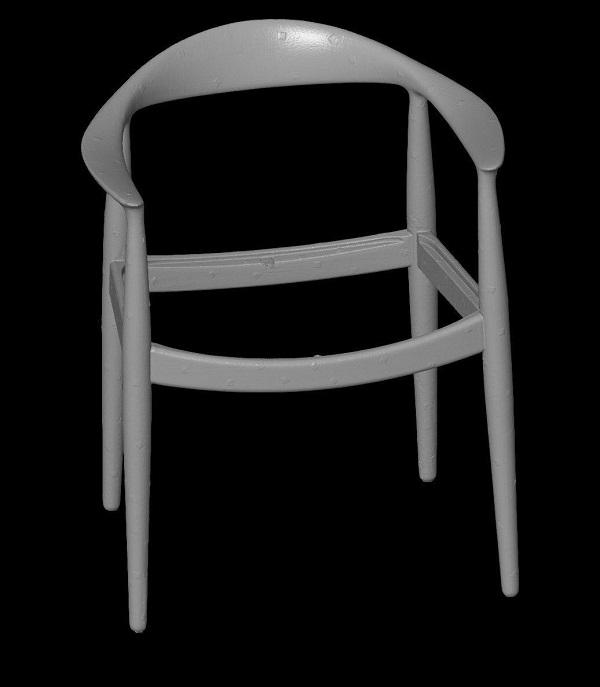 3D сканирование стула 5