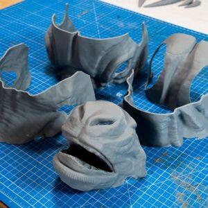 Фото 3D печать элементов для косплея 8