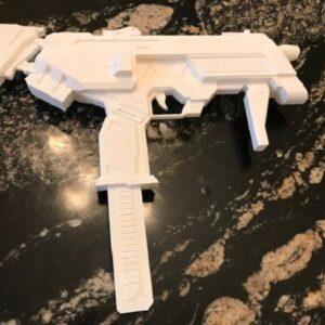Фото 3D печать элементов для косплея 9