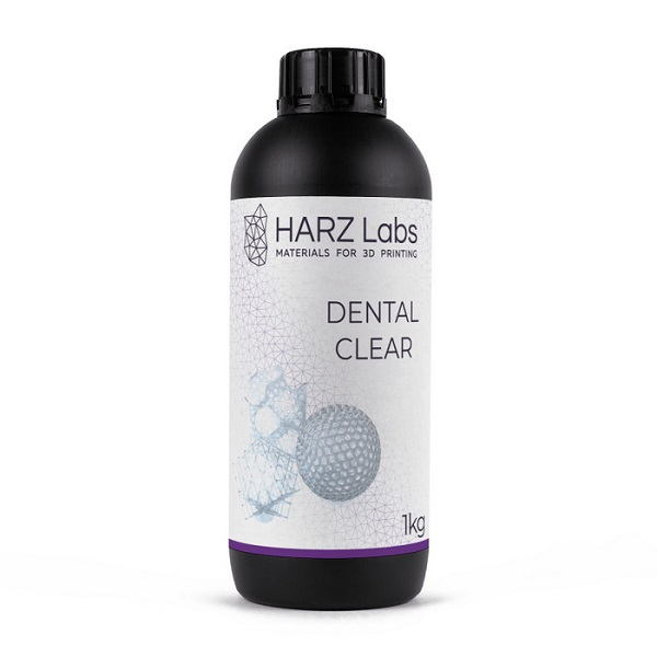 Фото фотополимера HARZ Labs Dental Clear SLA 1 л 1