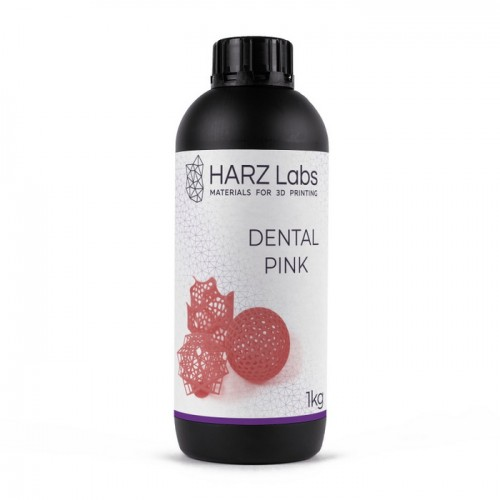 Фото фотополимера HARZ Labs Dental Pink LCD/DLP 1 л 1