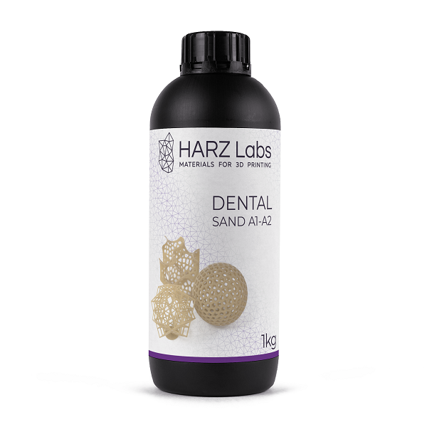 Фото фотополимера HARZ Labs Dental Sand 1 кг 1