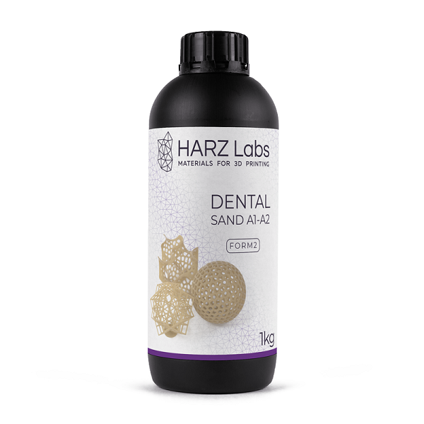 Фото фотополимера HARZ Labs Dental Sand Form2 1 кг 1