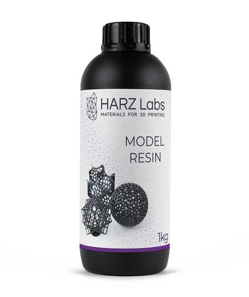 Фото фотополимера HARZ Labs Model LCD/DLP 1 л черный