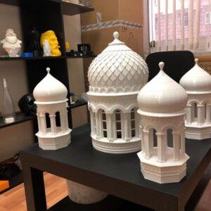 Фото 3D-печать храмов церковных соборов 9