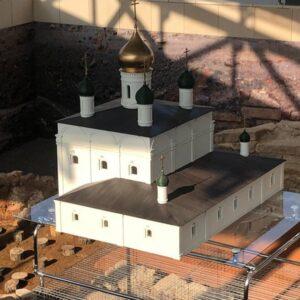 Фото 3D-печать храмов церковных соборов 4