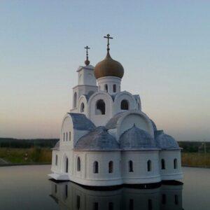 Фото 3D-печать храмов церковных соборов 2
