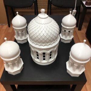 фото 3D-печать храмов церковных соборов 8