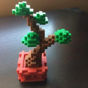 Фото 3D-печать моделей из игры Minecraft 3