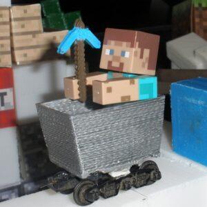 Фото 3D-печать моделей из игры Minecraft 6