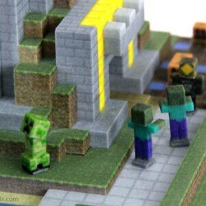 Фото 3D-печать моделей из игры Minecraft 9