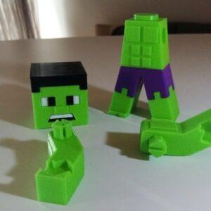 Фото 3D-печать моделей из игры Minecraft 11