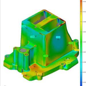 Фото 3D контроль геометрии изделий 3