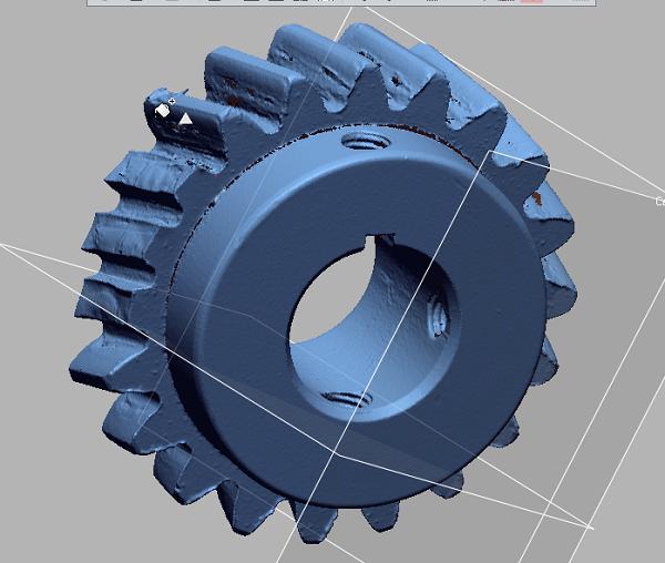 Фото 3D моделирование шестеренки 1