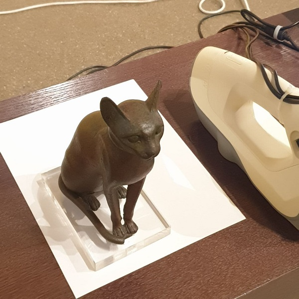 Фото 3D печать фигурки кошки из пластика 2