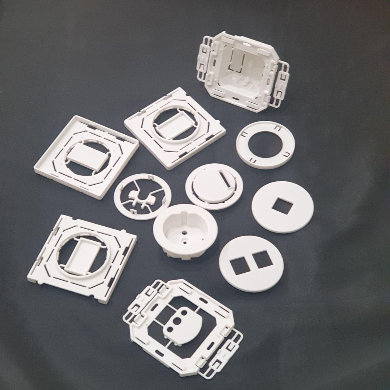 Фото 3D печать комплекта пластиковых деталей 4