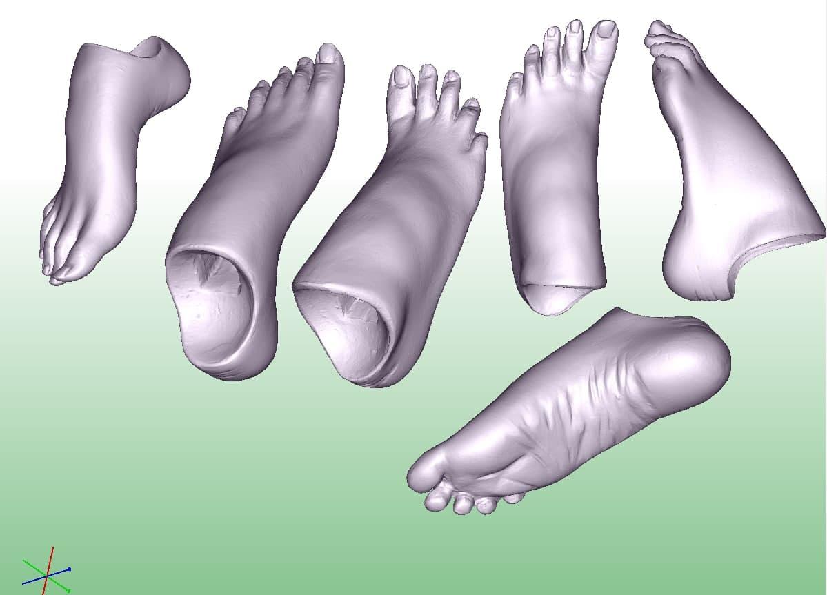 Фото 3D печать рук и ног 1