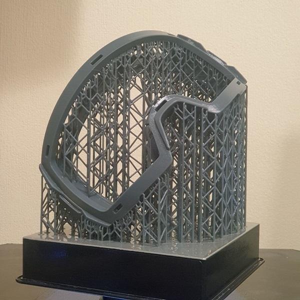 Фото 3D печать защитной маски из пластика 2