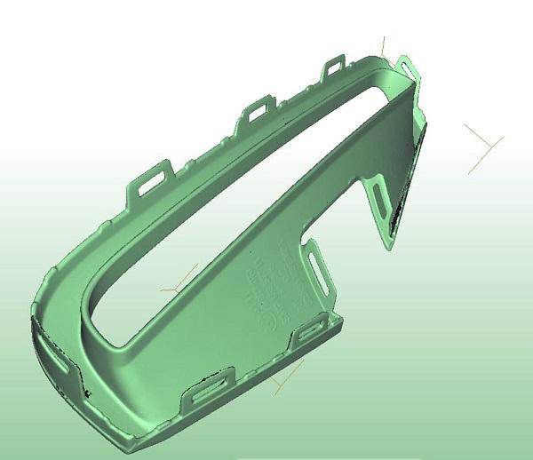 Фото 3D сканирование мелкой детали 2