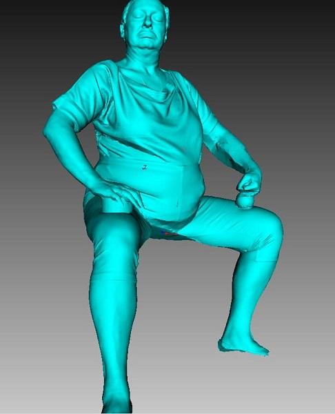 Фото 3D сканирование статуэтки 1