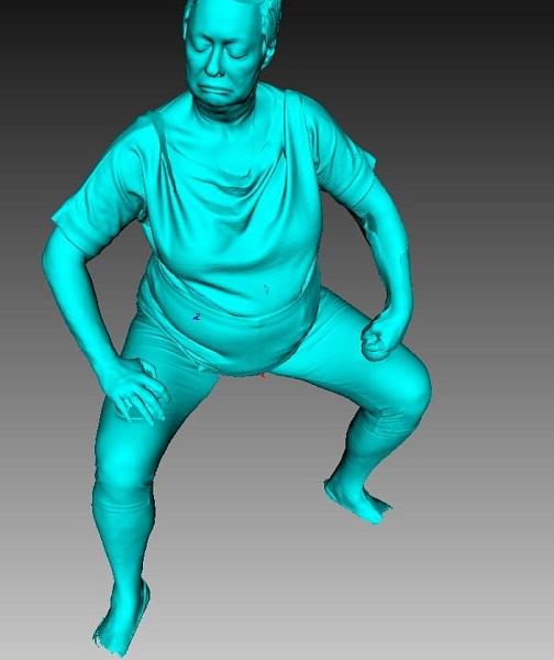 Фото 3D сканирование статуэтки 3