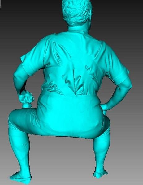 Фото 3D сканирование статуэтки 4